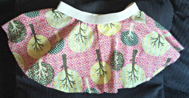 pink-trees-circle-skirt | tolmema