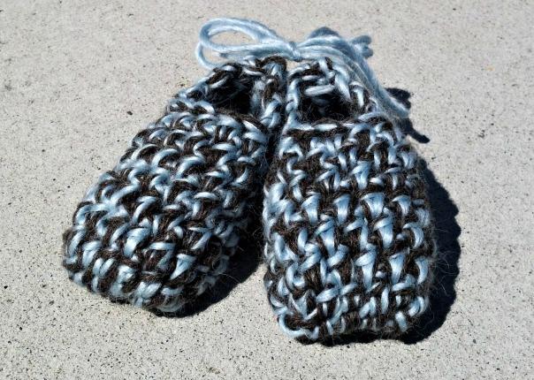 brown-blue-booties