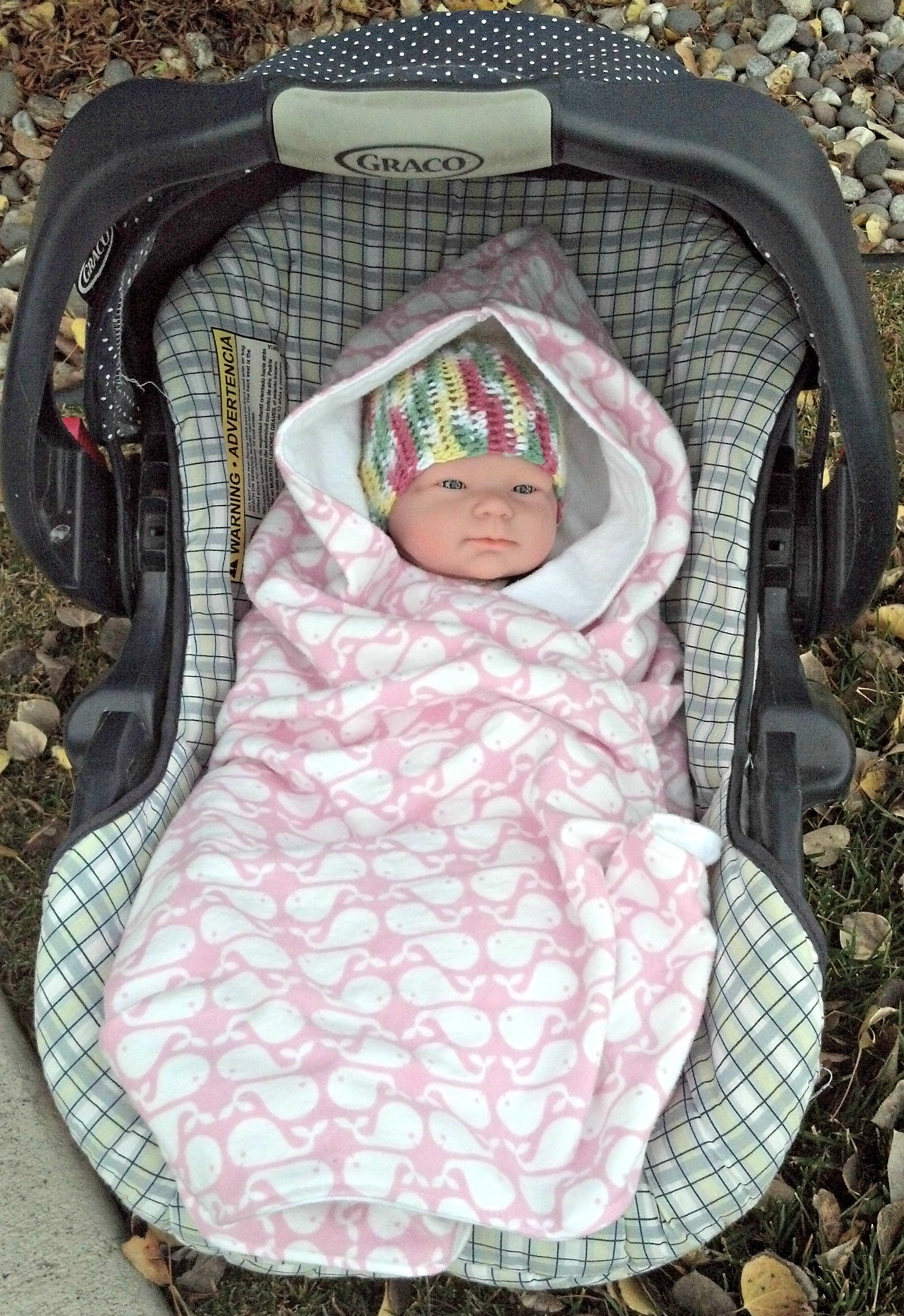 Another Carseat Swaddle Blankie