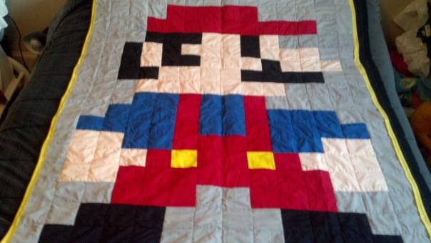 8-bit-mario-quilt | tolmema
