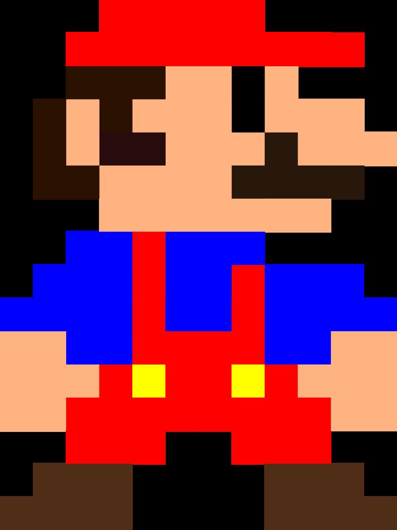 The Great 8 Bit Mario Quilt Adventure